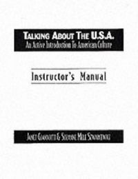 Talking about usa instructors manual