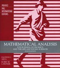 Mathematical analysis 4/e