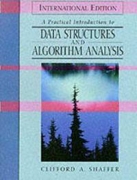 Data structures algorithm analysis