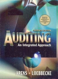 Auditing integrated approach 7/e