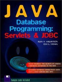 Java database prog.servlets jdbc