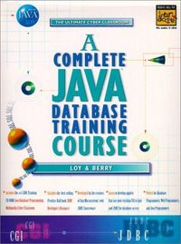 Complete java database training course