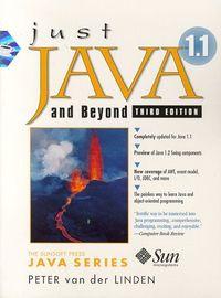 Just java 1.1 beyond 3 ed