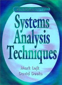 Systems analysis techniques