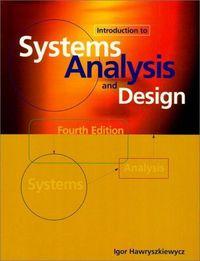 Systems analysis design 4/e