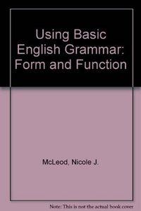 Using basic english grammar from funct