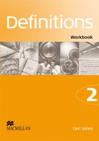 Definitions 2 workbook ingles