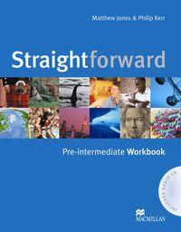 Straightforward pre-intermediate wb+portefolio pac