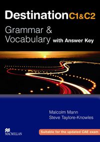 Destination c1 and c2 grammar and vocabulary with