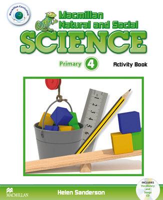 Macmillan natural science 4ºep wb 11 pack