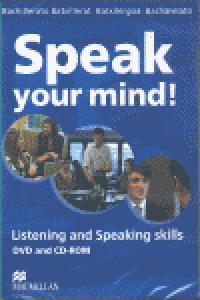 Speak your mind dvd pack