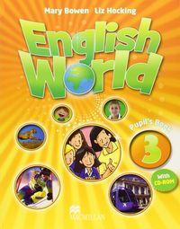 English world 3 pupils book