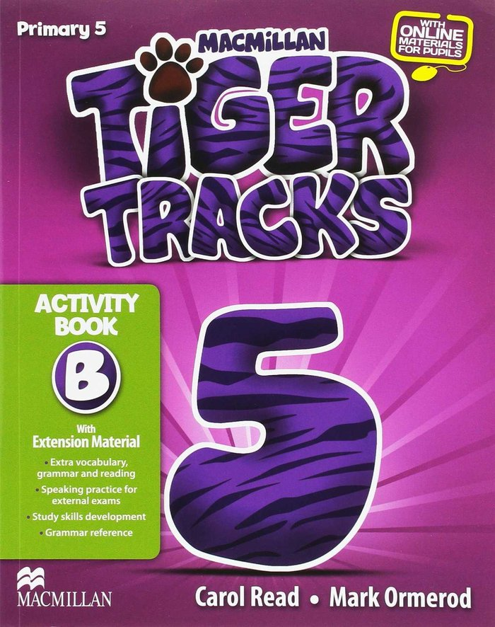 Tiger tracks 5ºep wb b 14