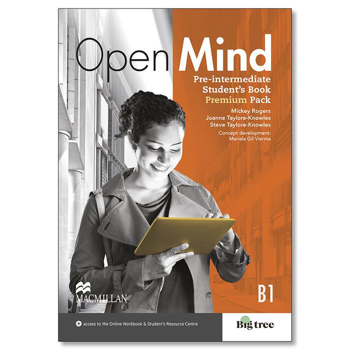 Open mind pre-int sb premium pk