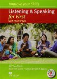 Improve skills first list&speaking+key+mpo pack