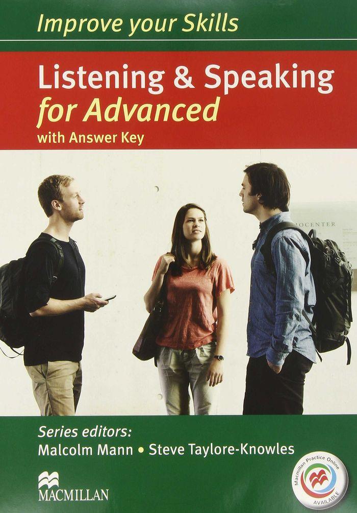 Improve your skills for advanced listening & speak