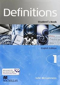 Definitions 1 student pack ingles ed.2014