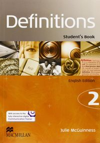Definitions 2 student pack ingles ed.2014