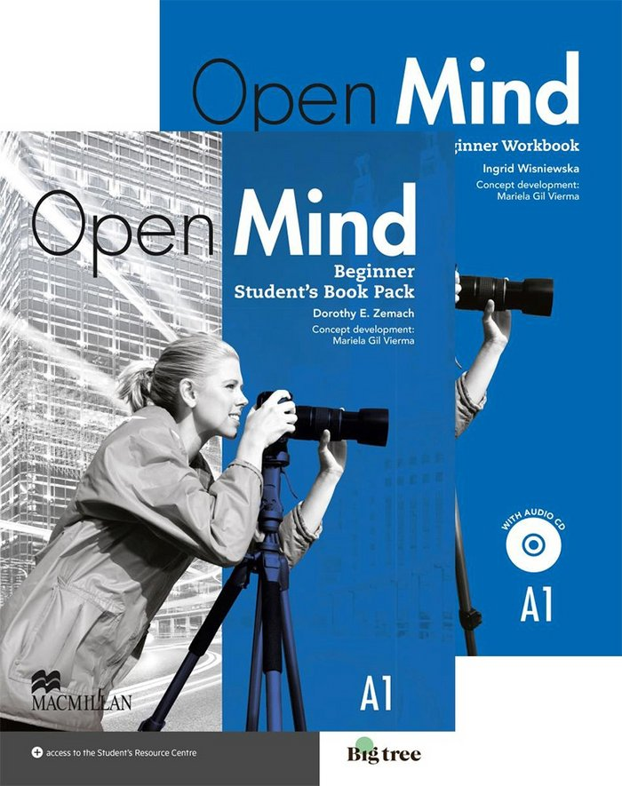Open mind beginner st pack without key