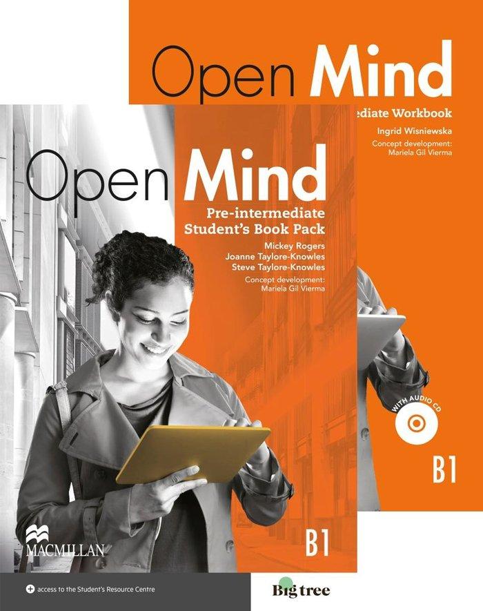 Open mind pre intermediate sb+wb pk