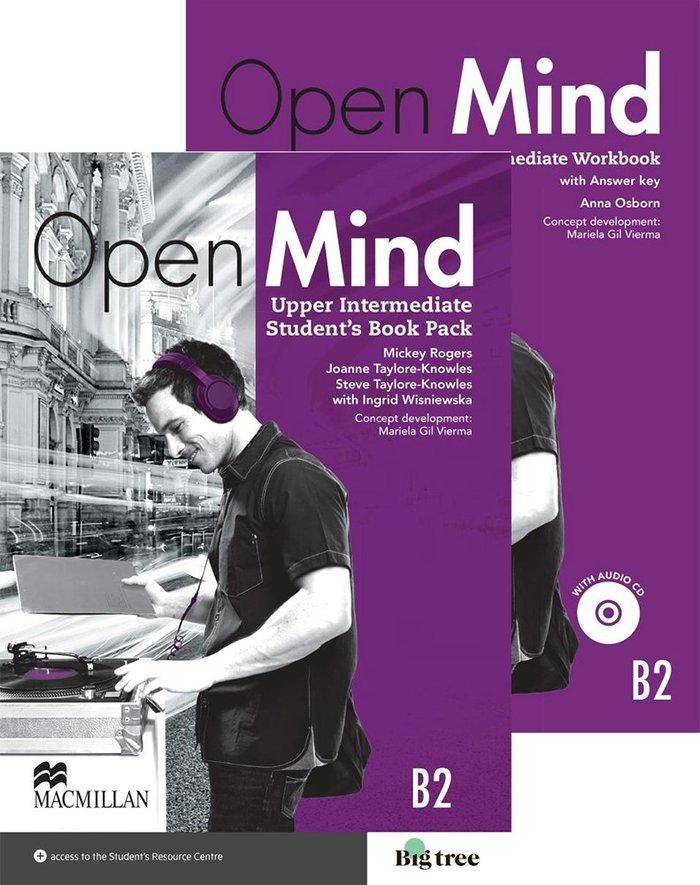 Open mind upper st+wb +key pack 15