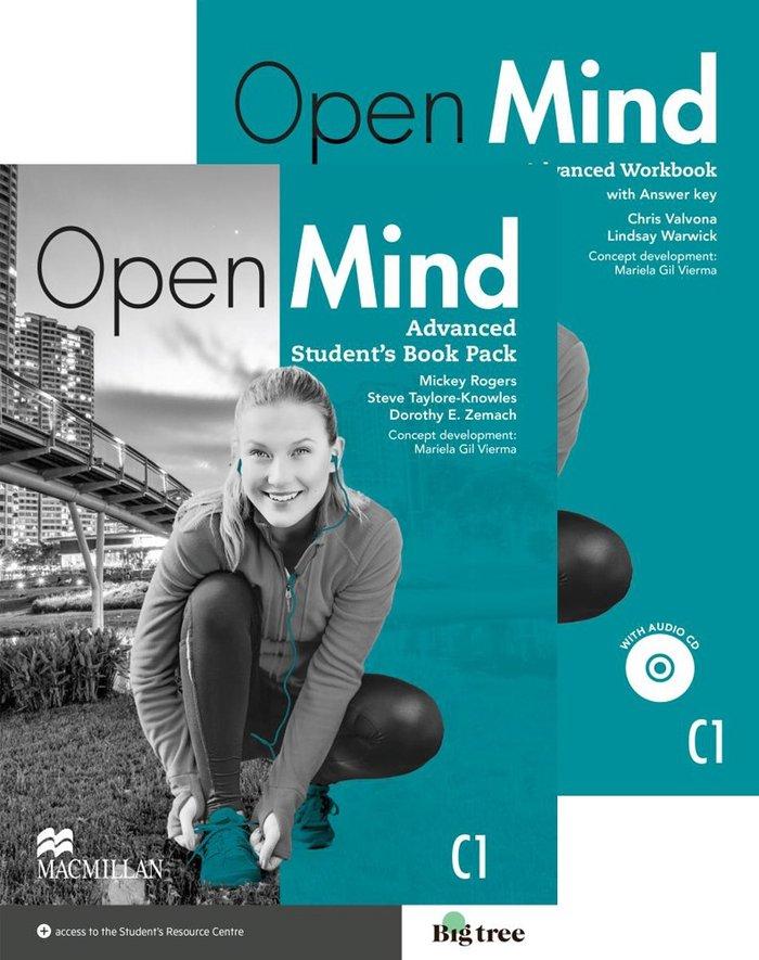 Open mind advanced st+wb +key pack 15