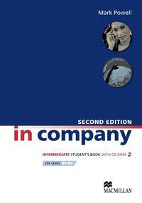 In company intermediate st+cd b1-b2
