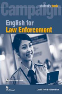 English for law enforcement+cd