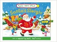 Pull-out pals: santa's sleigh (bb)