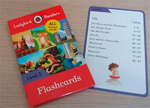 Ladybird readers level 3 flashcards (lb)