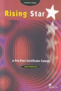For rising star pre first certificate st