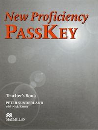 New proficiency passkey st