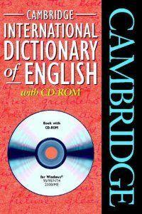 Cambridge international dic.english+cd