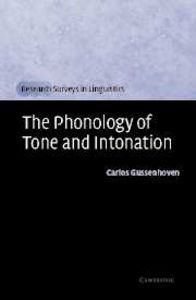 Phonology of tone and intonation
