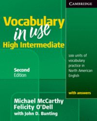 Vocabulary in use high intermediate student's book with answ