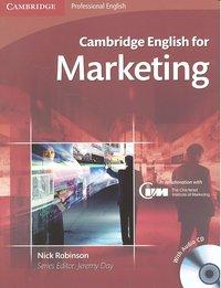 Cambridge eng.for marketing +cd