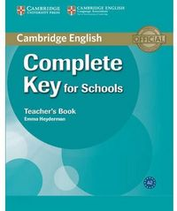 Complete key for schools students teachers