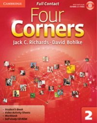 Four corners level 2 full contact with self-study
