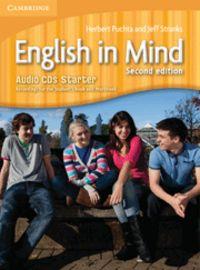 English in mind starter level audio cds (3) 2nd ed