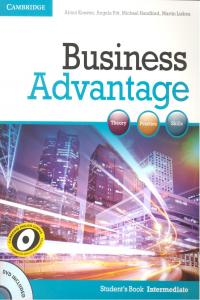 Business advantage intermediate st +dvd