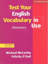 Test your english vocabulary in use elementary