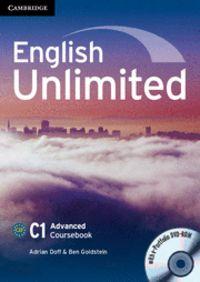 English unlimited advanced coursebook with e-portf