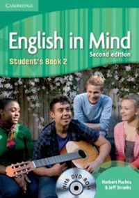 English in mind level 2 student's book with dvd-rom 2nd edit