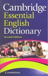 Cambridge essential english dictionary 2ªed