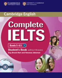 Complete ielts bands 5-6.5 student's book without answers wi