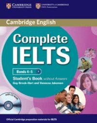Complete ielts bands 4-5 student's book without answers with