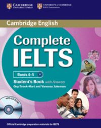 Complete ielts bands 4-5 student's pack (student's book with