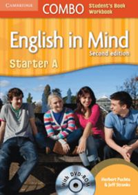 English in mind starter combo a with dvd-rom 2nd edition