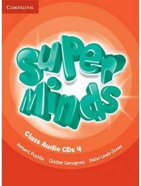 Super minds 4 class audio cd