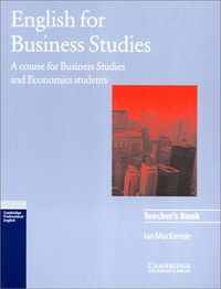 English for business studies tch
